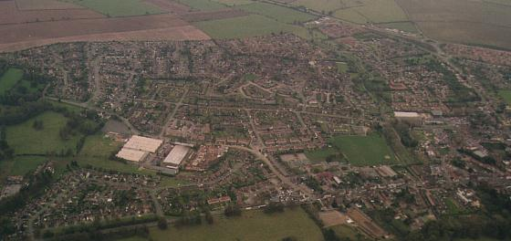 Towcester in Northamptonshire