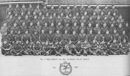 2nd Squadron of the 1st Glider Pilot Regiment, Jan 1943